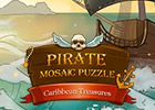 Pirate Mosaic Puzzle Caribbean Treasures