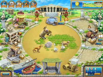 Download Farm Frenzy: Ancient Rome - Free online games with