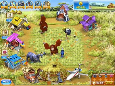 Download Farm Frenzy 3: Madagascar - Free online games with