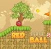 Red Bounce Ball 5
