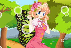 Sweet Butterfly Fairy