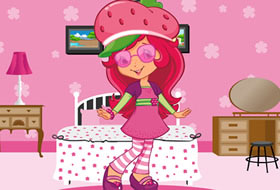 Play Strawberry Shortcake Room Decoration Free Online