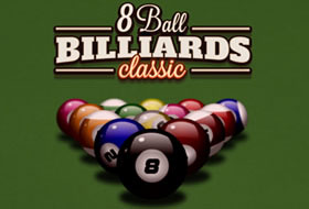 Play 8 Ball Billiards Classic Free Online Games With Qgames Org