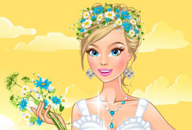 Wearing Flowers Dressup