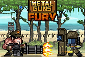 Metal Guns Fury - Beat Em Up