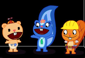 Happy Tree Friends Nr1 - Dynamit