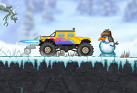 Monster Truck Trip Seasons - Winter
