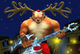 Santa Rockstar 5 - Rudolf Saves The World