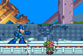 Megaman and Link
