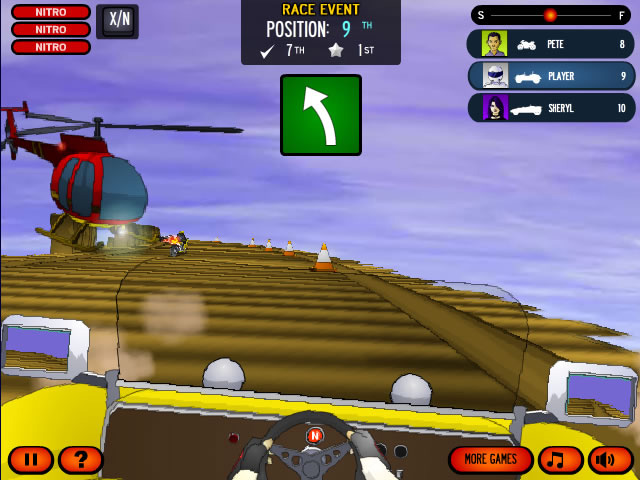 Play Coaster Racer 3 - Free online games with Qgames.org