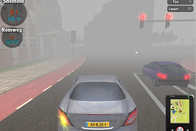 Car Driving Games >> Play Traffic Talent - Free online games with Qgames.org