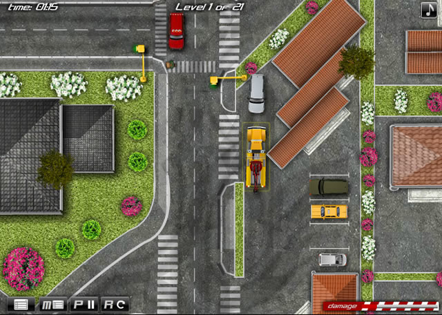 Play Heavy Tow Truck 2 - Free online games with Qgames.org