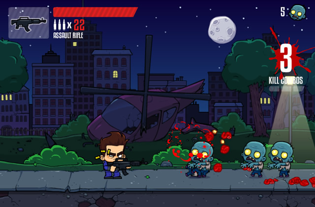 Play Zombocalypse 2 - Free online games with Qgames.org