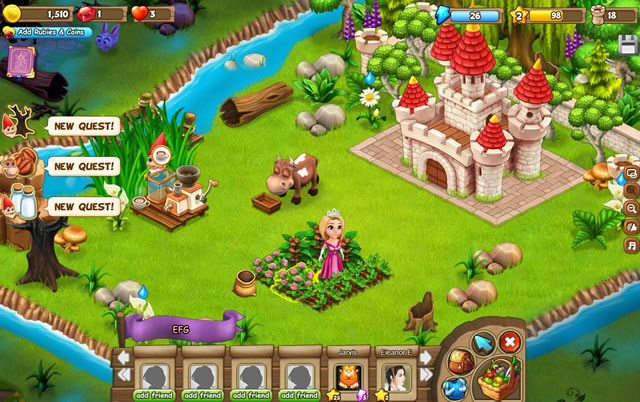 Play Royal Story - Free online games with Qgames.org