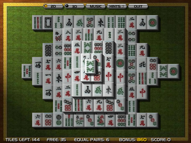 mahjong 3d online