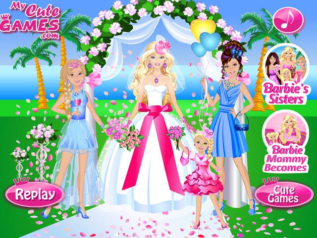 Barbie Hochzeit Spiele