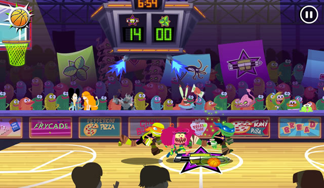 Play Nick Basketball Stars 2015 - Free online games with