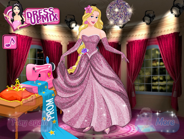 Play Disney Princess Prom Dress Design - Free online games with ...