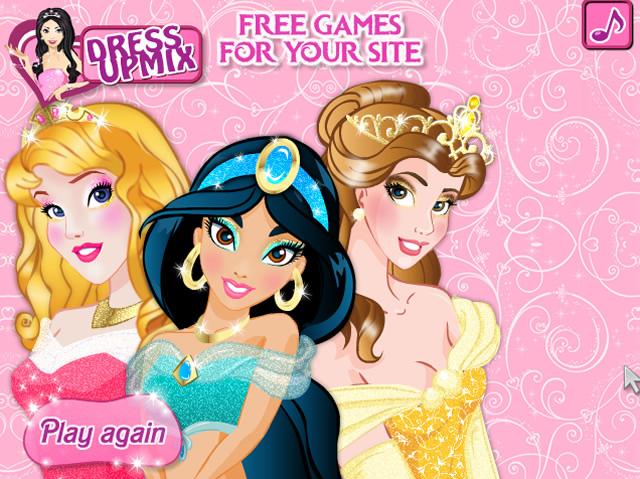 Disney Princess Makeup School