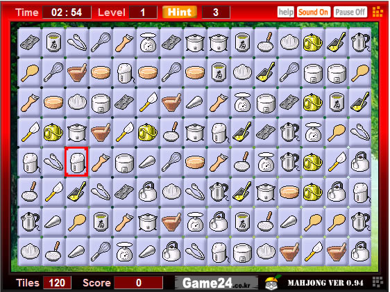 Play mahjong cook free online games with qgames org