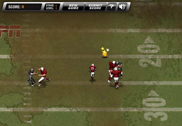 Play return man 2 mud bowl game free online games with qgames org