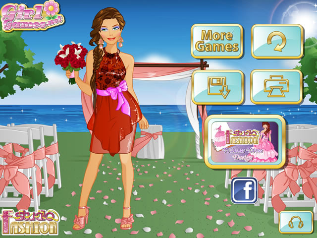 Play Fashion Studio Bridesmaid Dress Free Online Games With