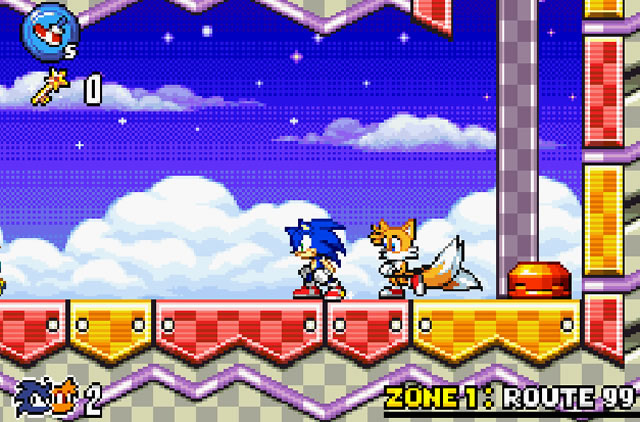 Play Sonic Advance 3 - Free online games with Qgames org
