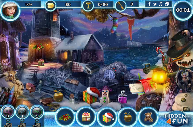 Play Merry Scary Christmas - Free online games with Qgames.org