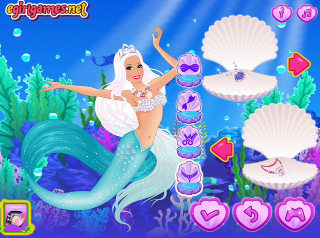 Play barbie the mermaid princess free online games with - Jeux de princesse barbie sirene ...