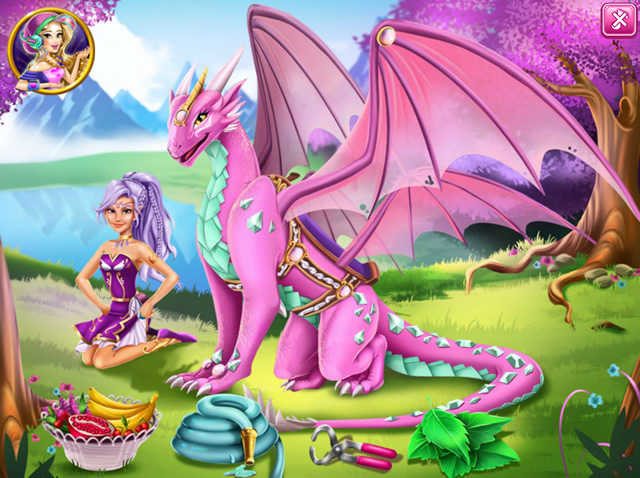 Play Lego Elves Dragon Care Free Online Games With