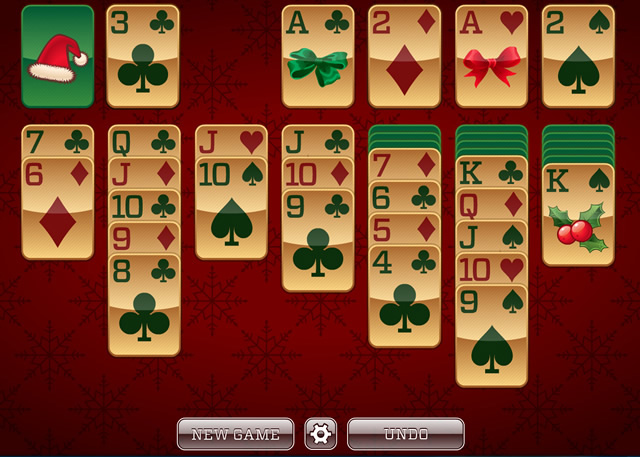 Christmas Solitaire.Play Christmas Solitaire Free Online Games With Qgames Org