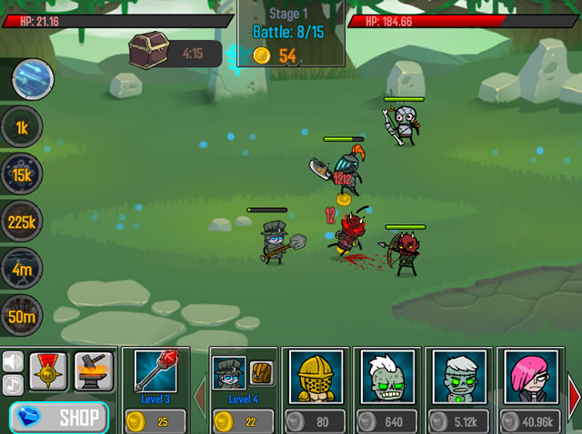 Play Loot Heroes Clicker - Free online games with Qgames org