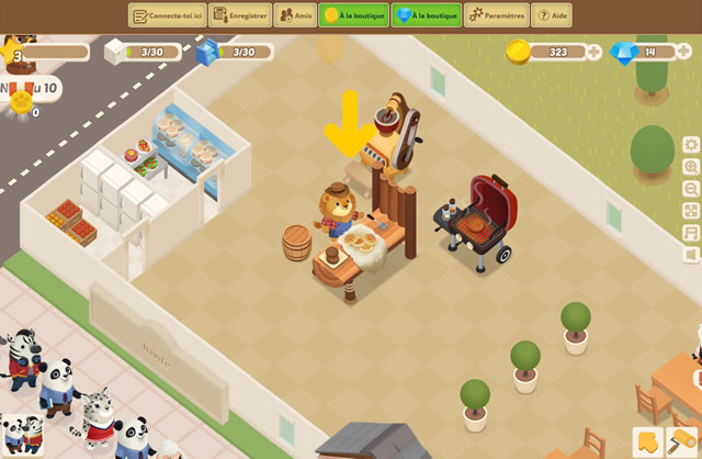 Play Dining Zoo - Free online games with Qgames.org
