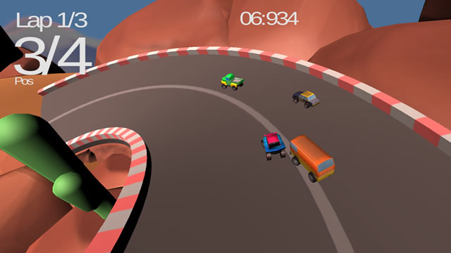 Play Mini Car Racing Free Online Games With Qgames Org