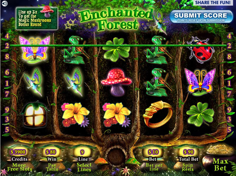 Enchanted forest slot machine free poker blackjack online
