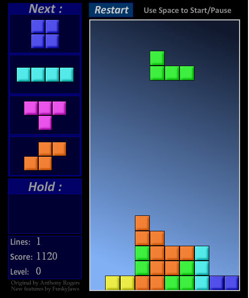 Tetris Kostenlos Ohne Anmeldung Spielen