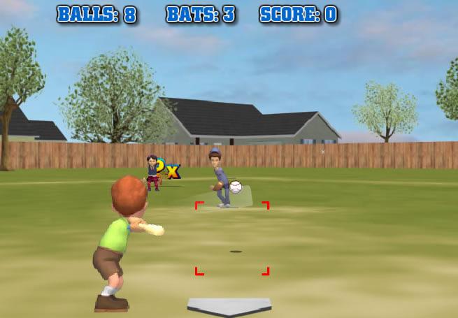 Backyard Sports Sandlot Sluggers play backyard sports - sandlot sluggers - free online games with