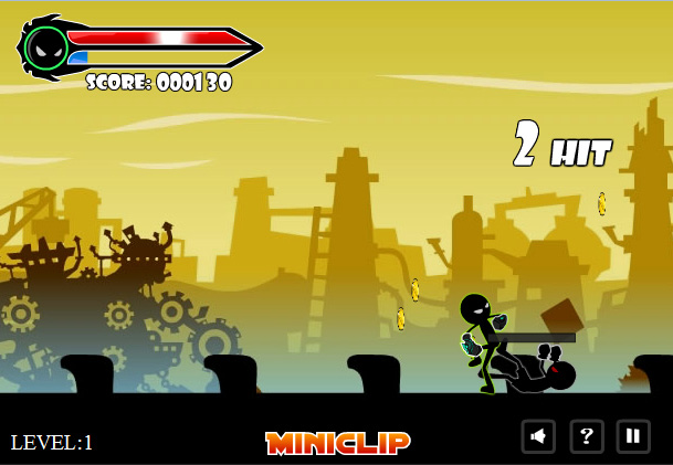 play free online stickman fighting games