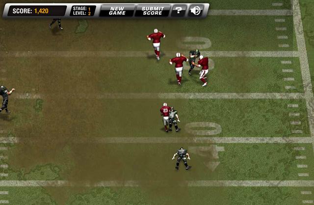 online football games return man 2
