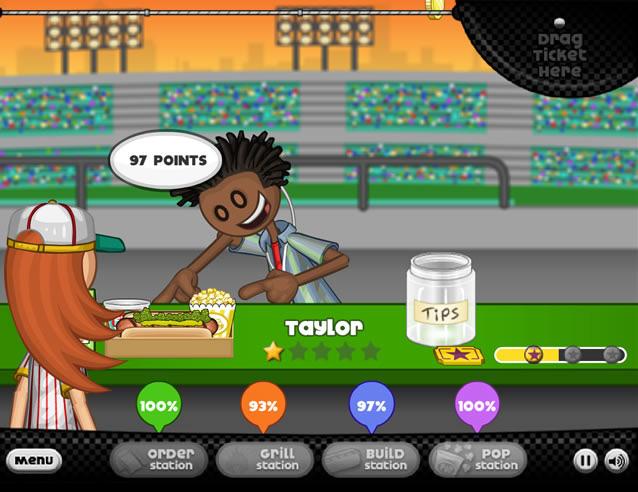 play papa u0026 39 s hot doggeria