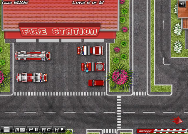 Play Fire Trucks Driver - Free online games with Qgames.org
