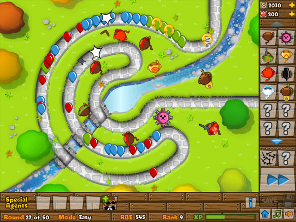 Play bloons tower defense 5 free online games with qgames org